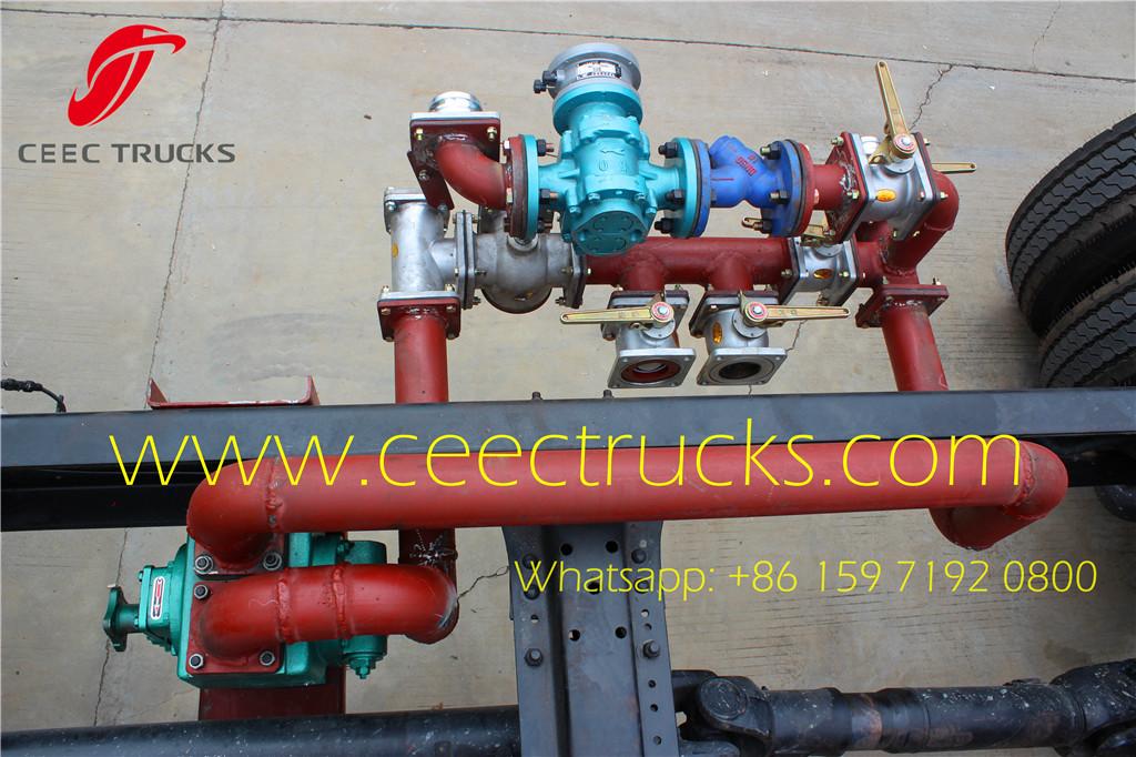 Beiben fuel tanker truck pipeline