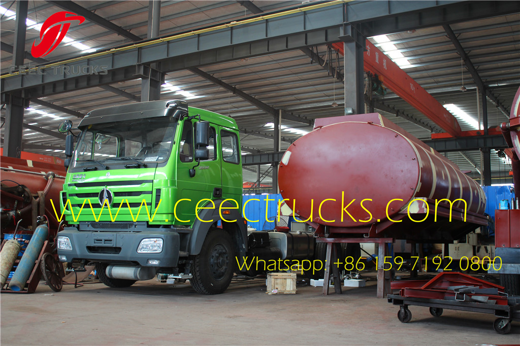 Beiben 2530 fuel tanker truck 20000Liters on sale