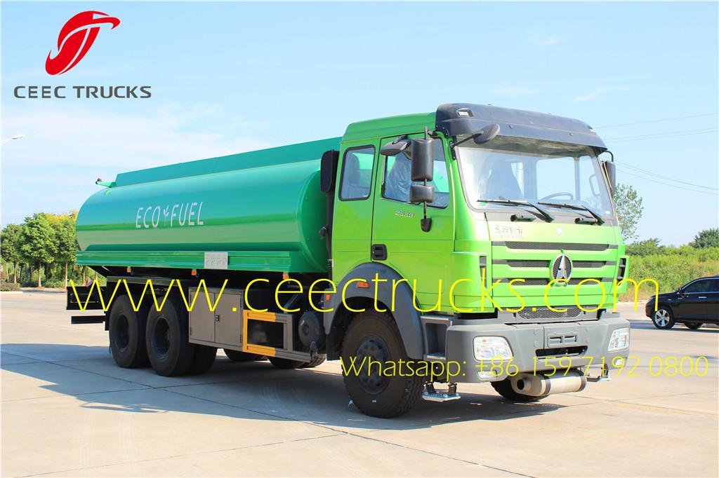 Beiben 2530 fuel tanker 20CBM diesel truck