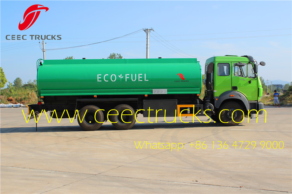 Beiben 300HP fuel bowser truck manufacturer