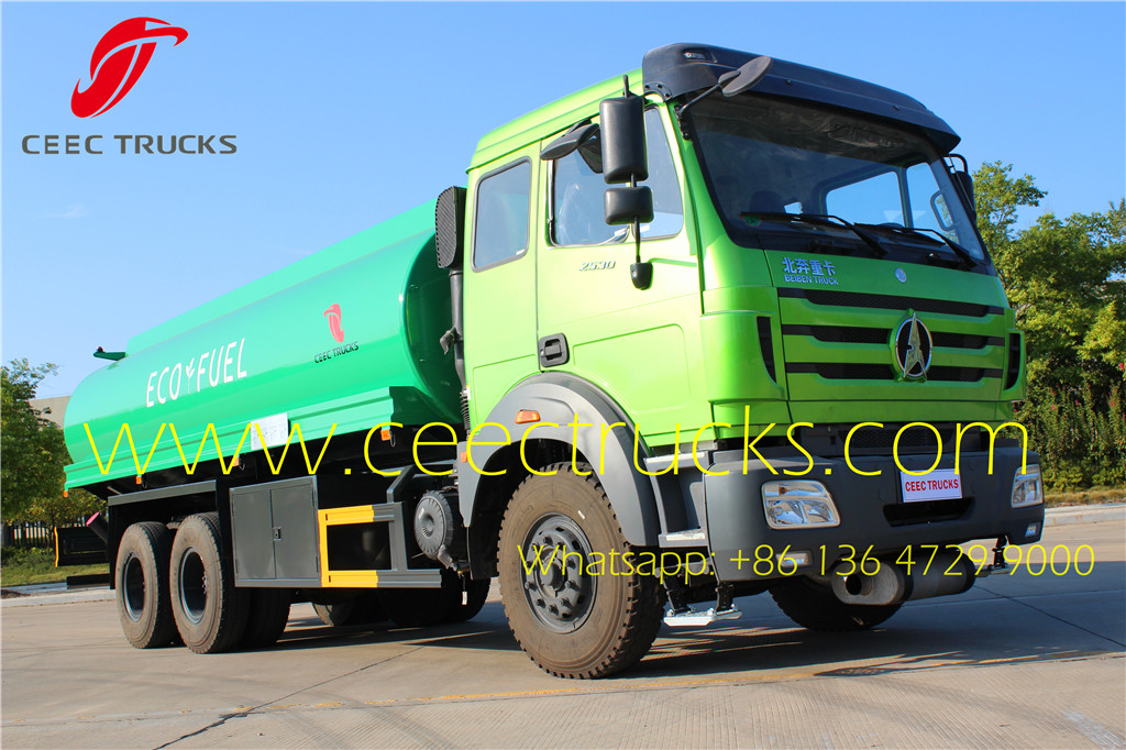 North benz 2530 NG80B 20CBM fuel truck on sale