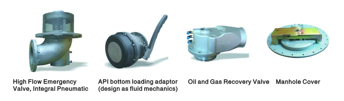 Euro standard control valves for beiben fuel truck