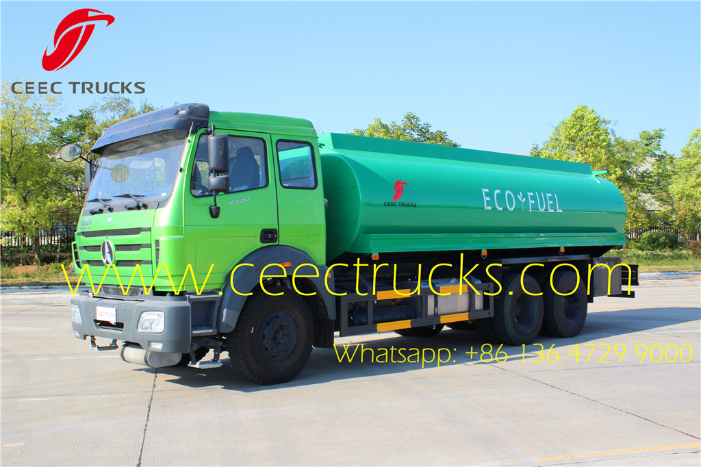 Beiben NG80B oil refueling tanker truck low price supply
