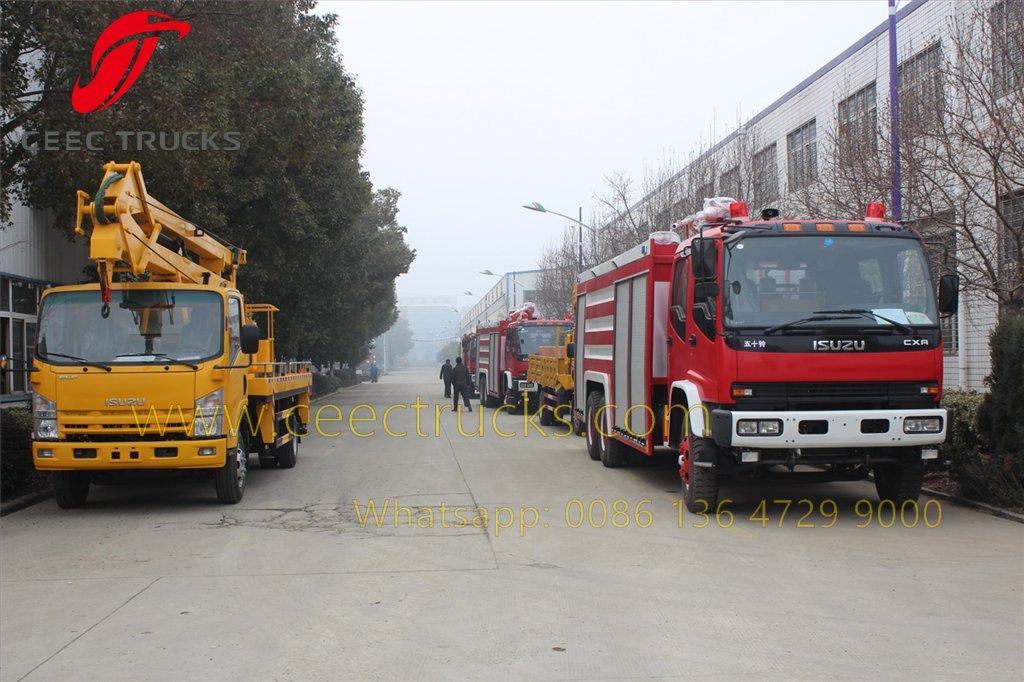 ISUZU fire truck
