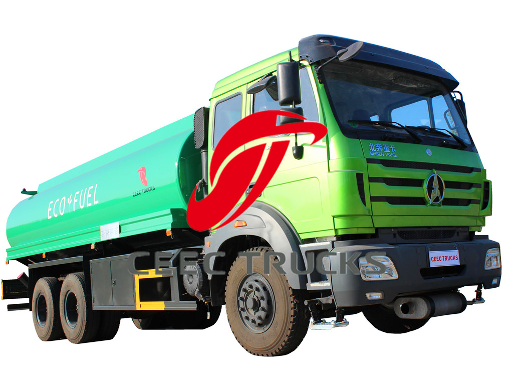 beiben 20CBM oil tanker vehicle supply