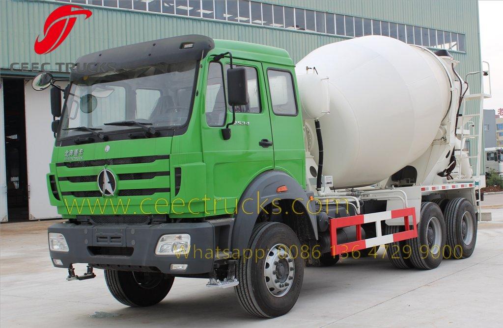 beiben 2534 concrete mixer truck