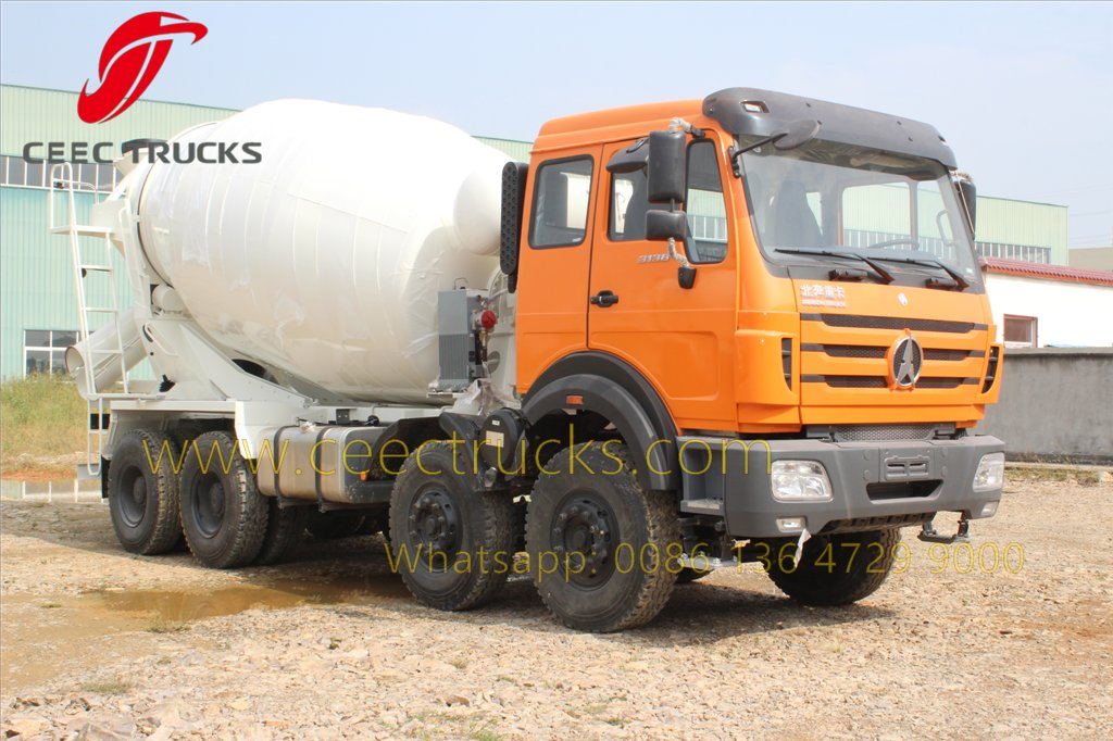beiben 3138 mixer truck supplier