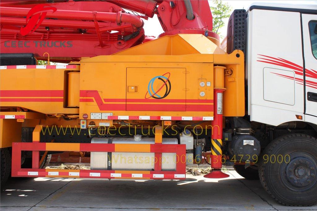 beiben concrete pump truck