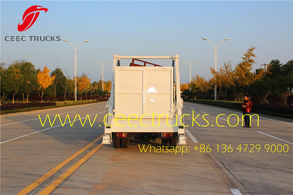 ISUZU 6CBM skip refuse container truck