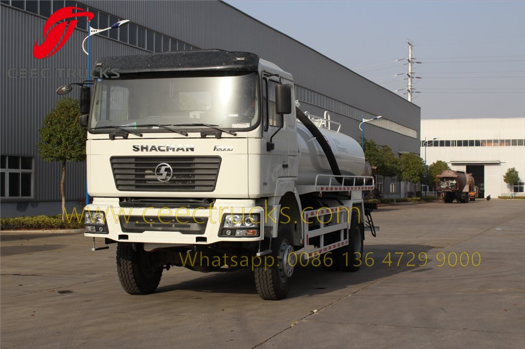 shacman vacuum tanker truck
