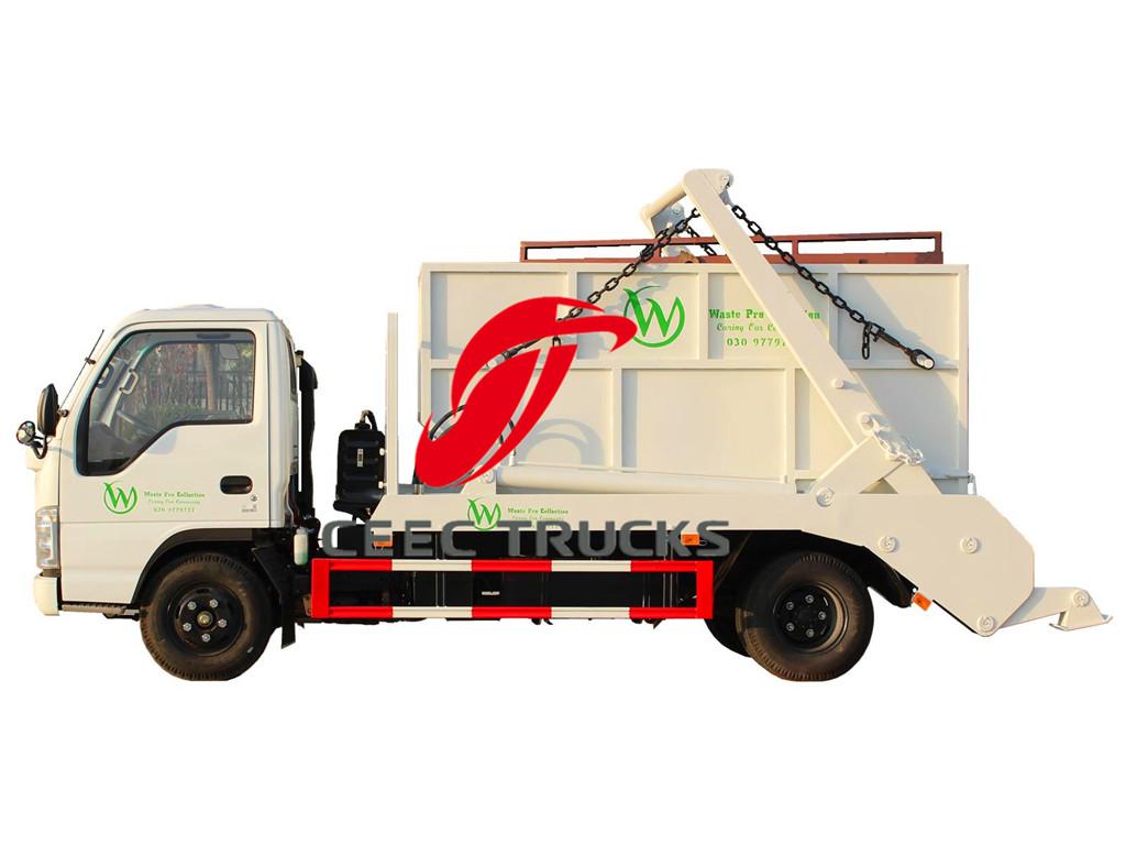 ISUZU 6CBM skip loader refuse vehicle