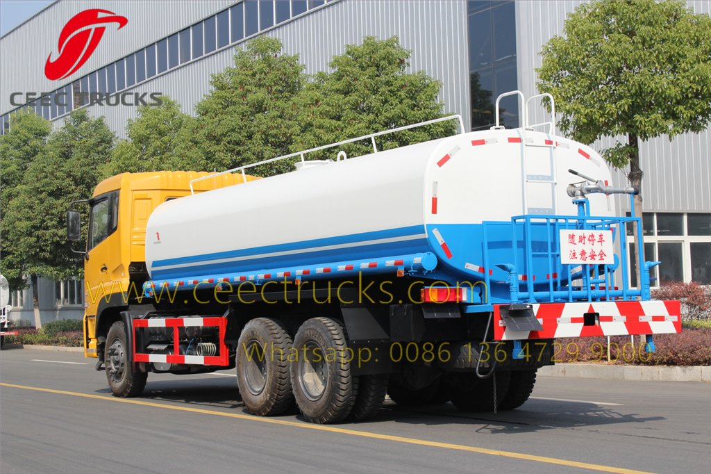 dongfeng 20 CBM water truck