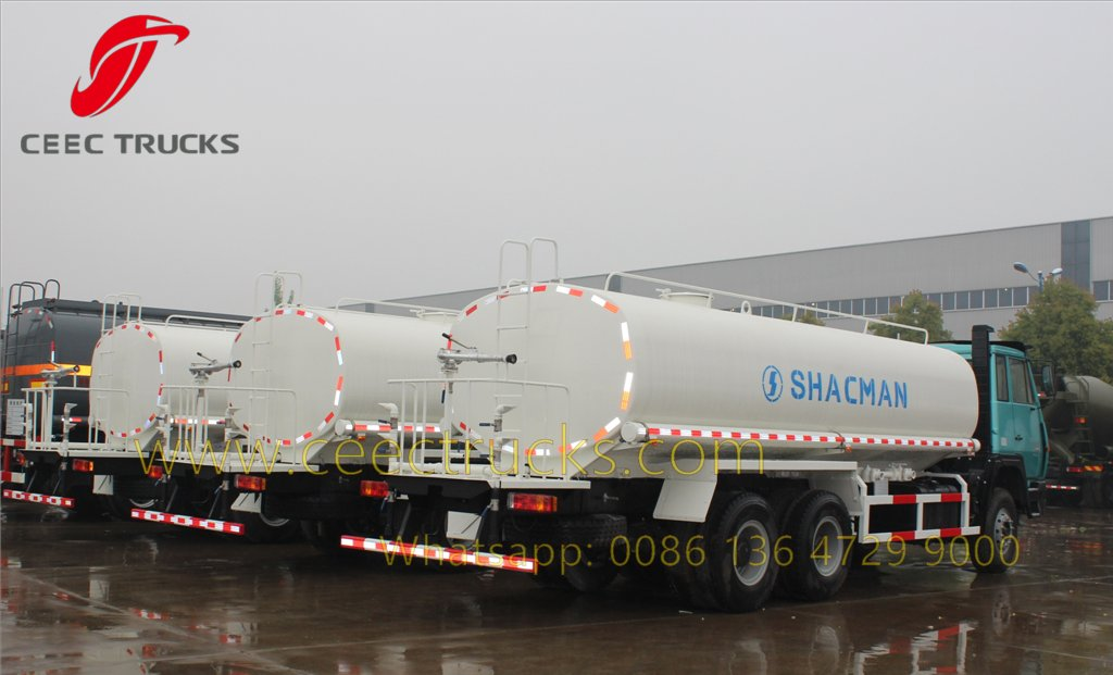 shacman fuel tanker