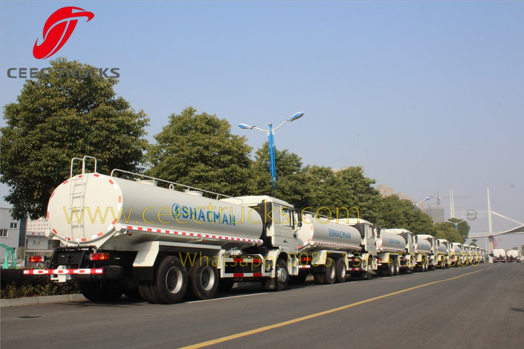 shacman water tanker truck