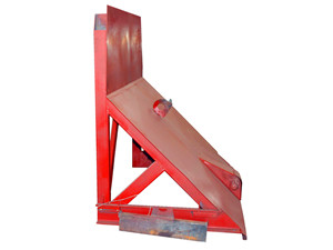 Refuse compactor truck Push Plate Assembly