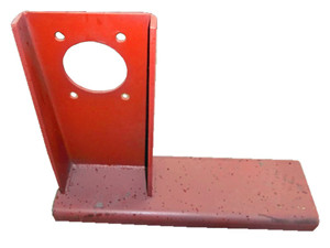 Hydraulic oil pump bracket