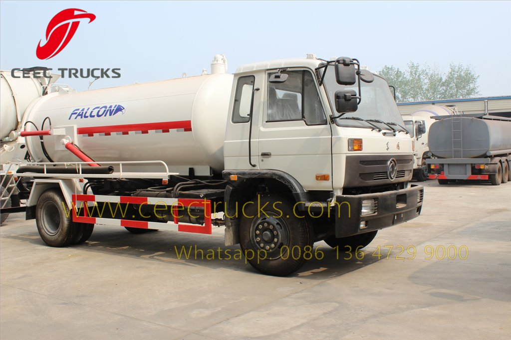 dongfeng 8 CBM sewage suction truck