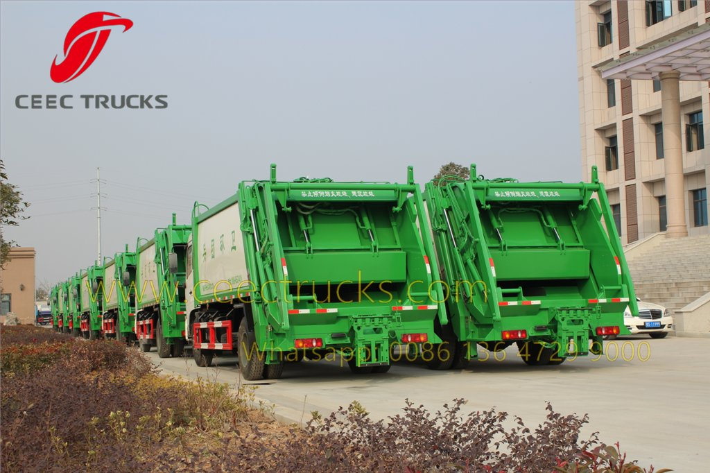 dongfeng refuse compactor truck