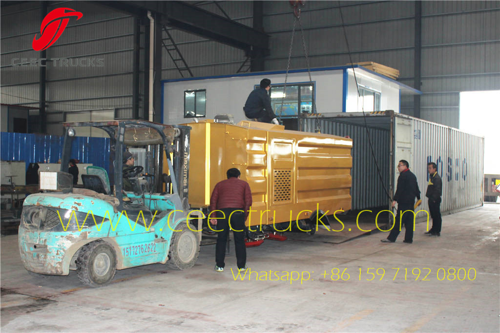 10 Road Sweeper Superstructure Container Delivery