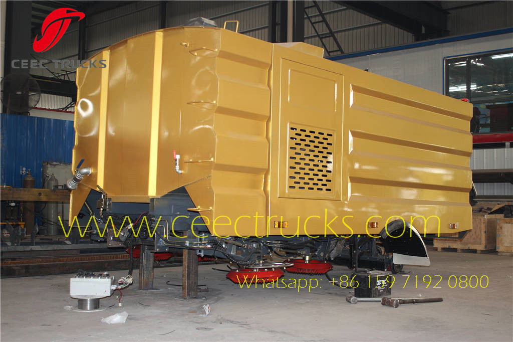 Road Sweeper Superstructure Container Delivery