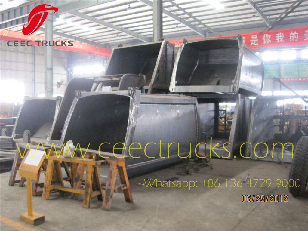 CEEC TRUCKS manufacture garbage compactor trucks CKD & SKD parts