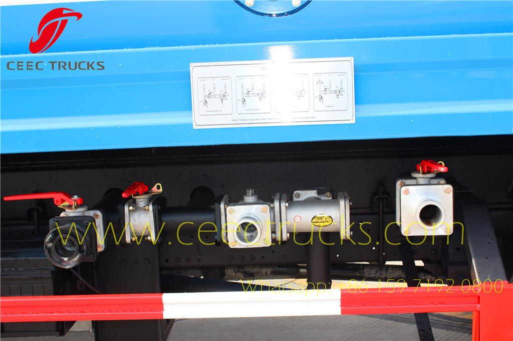 ISUZU 5m³ water tanker truck export