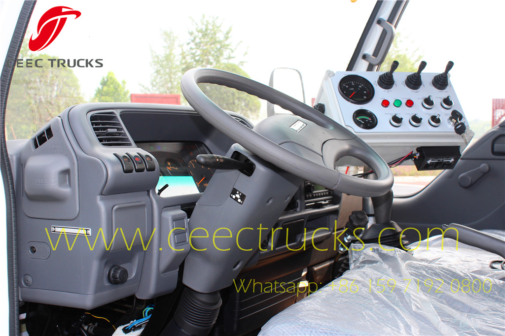 Control Box in driver cabin for easy operation