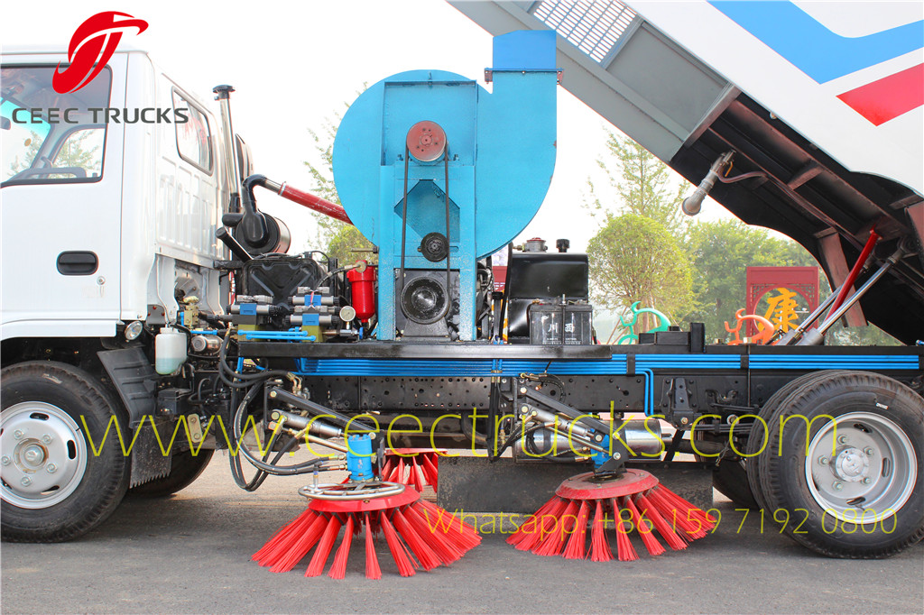 Road sweeper truck Water Spraying Bracket