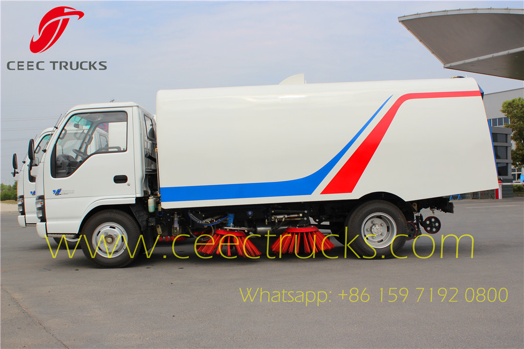 Road Sweeper Curve Tanker