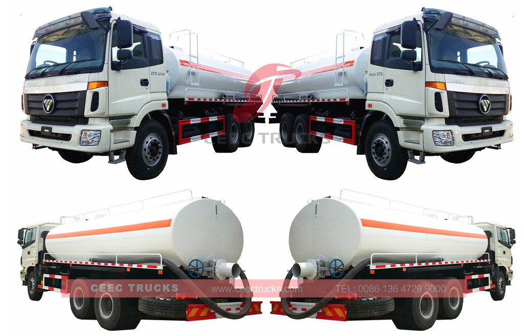 FOTON tanker truck overview