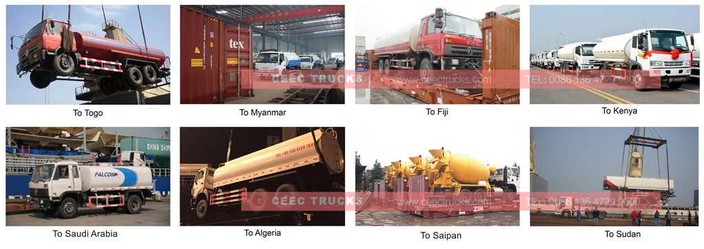 tanker truck export overview