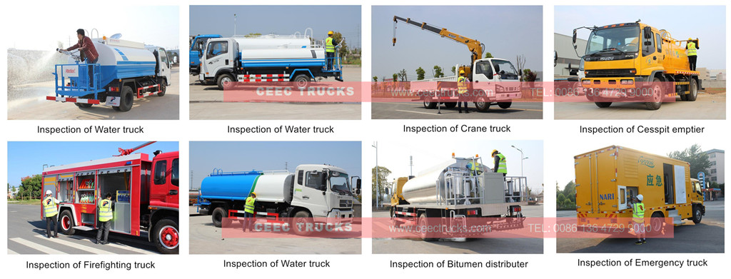 Inspection for CEEC tanker truck