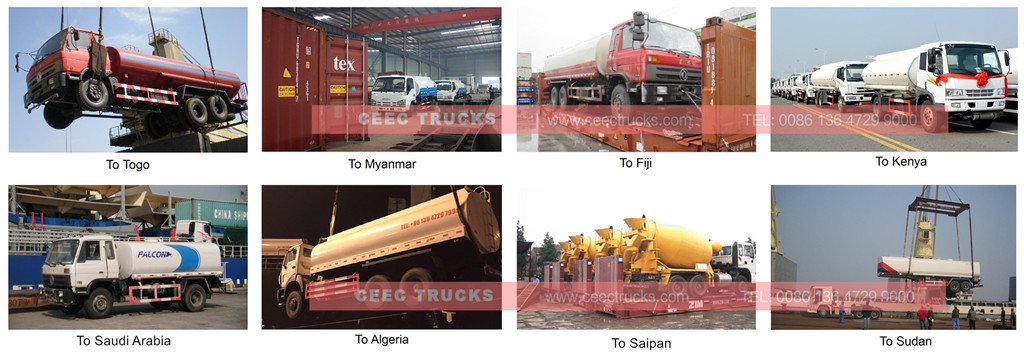 CEEC tanker truck export review