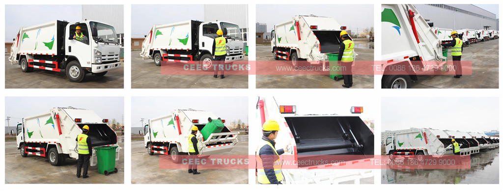 CEEC Garbage compactor truck inspection