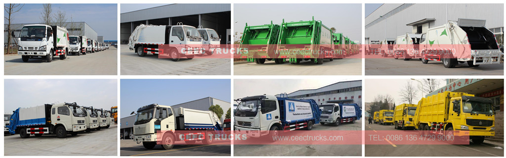 Garbage compactor factory stock