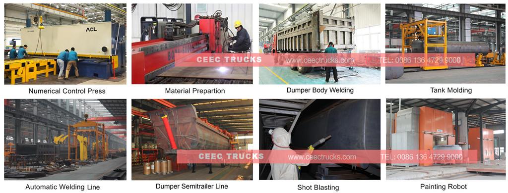 beiben dumper truck factory advantage