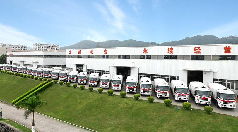china sanitation truck manufacturer