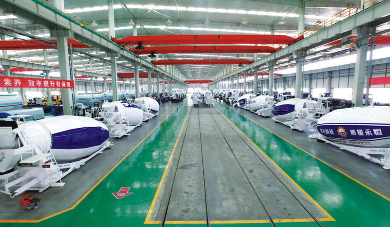 china mixer truck manufacturer