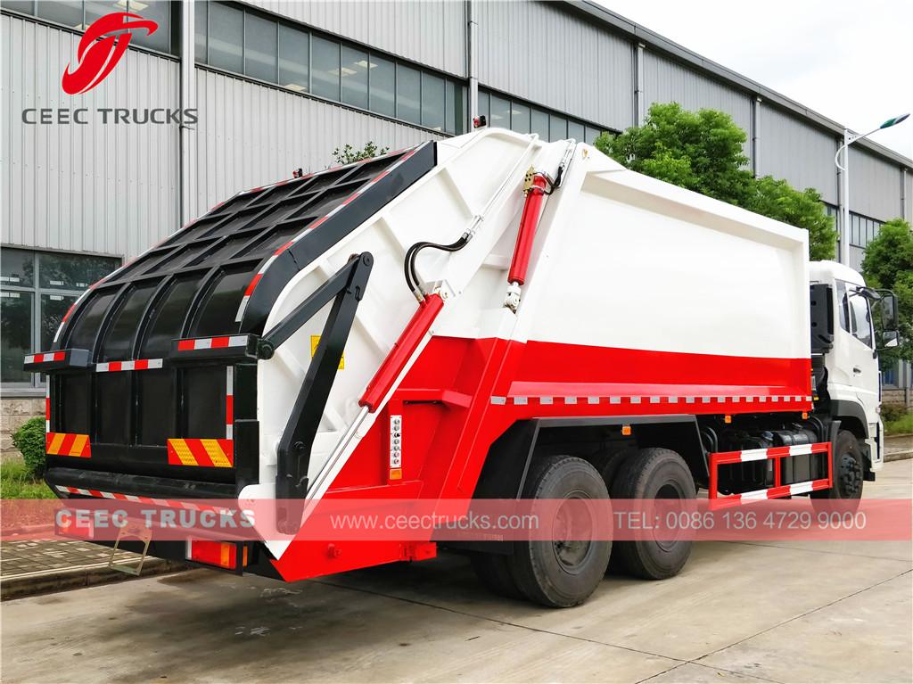 Dongfeng 20cbm heavy compactor trucks for China Government