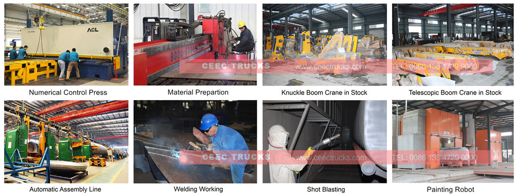 CEEC boom crane trucks Manufacturer supply
