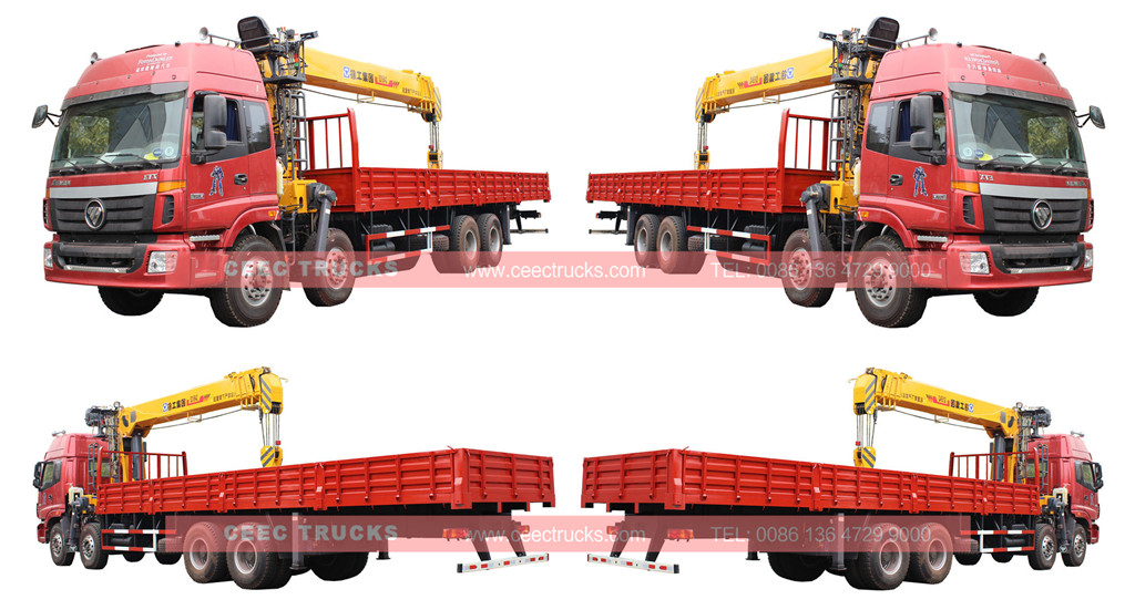 16Tons telescopic boom crane trucks wholesale low price