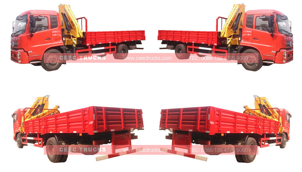 6.3Tons knuckle boom crane truck
