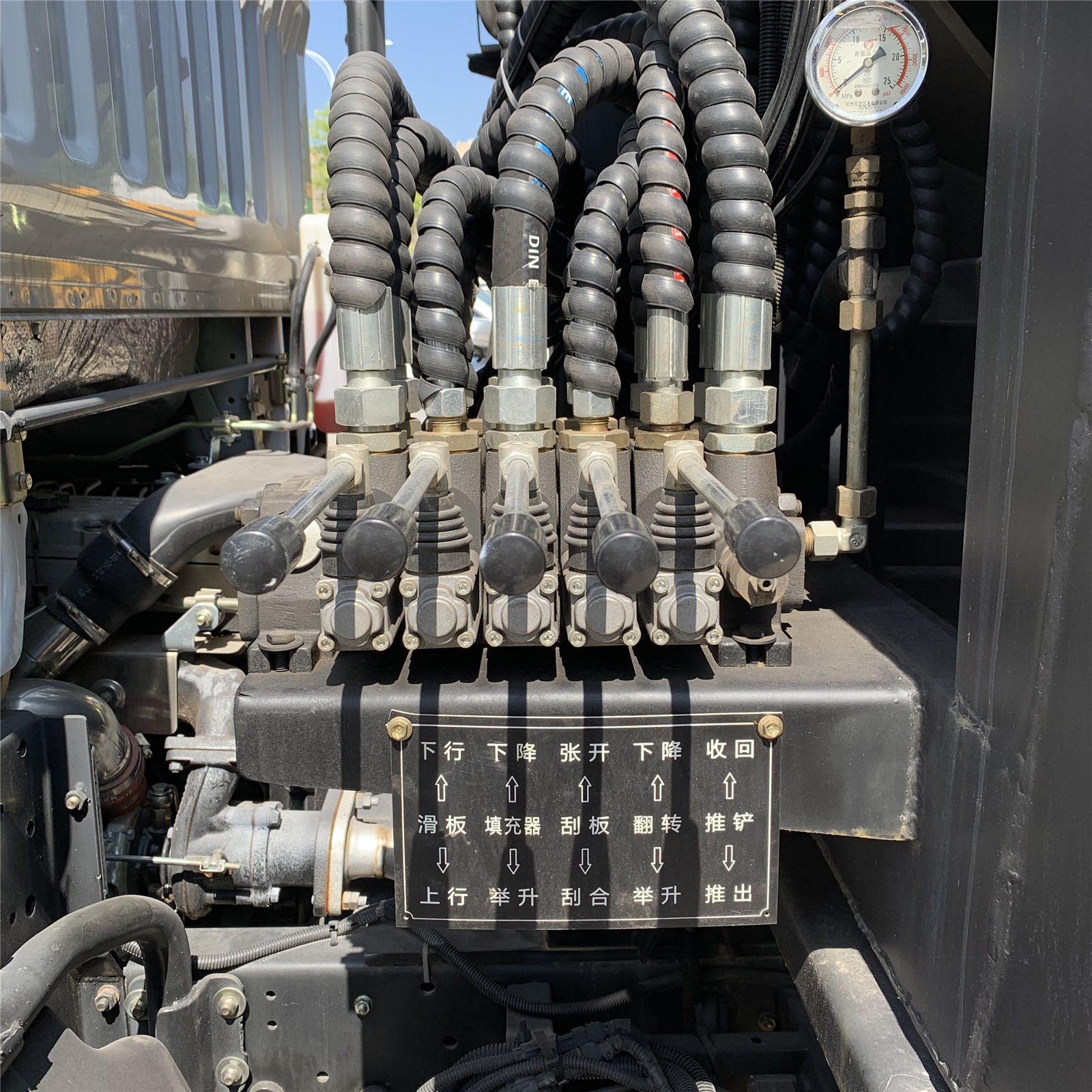 poor quality hydraulic control system
