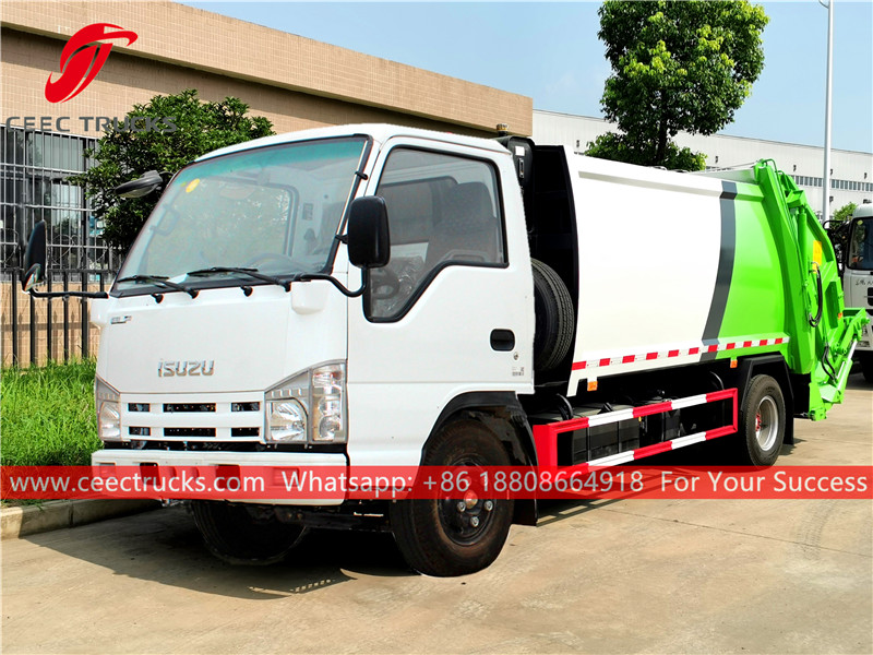 ISUZU 5CBM Rear loader