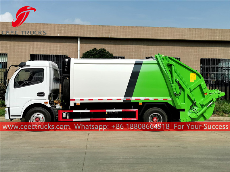 Refuse compactor truck for sale