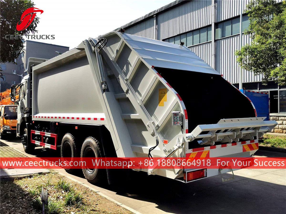 6*4 RHD Garbage collection truck