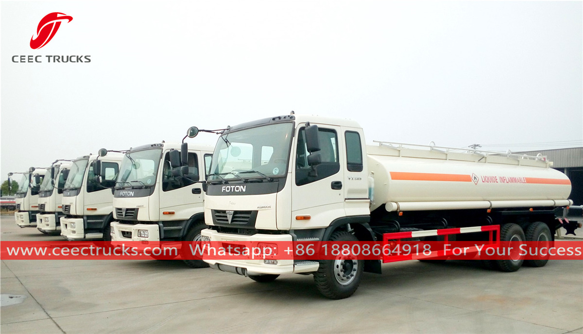 FOTON Fuel bowser trucks for Dubai