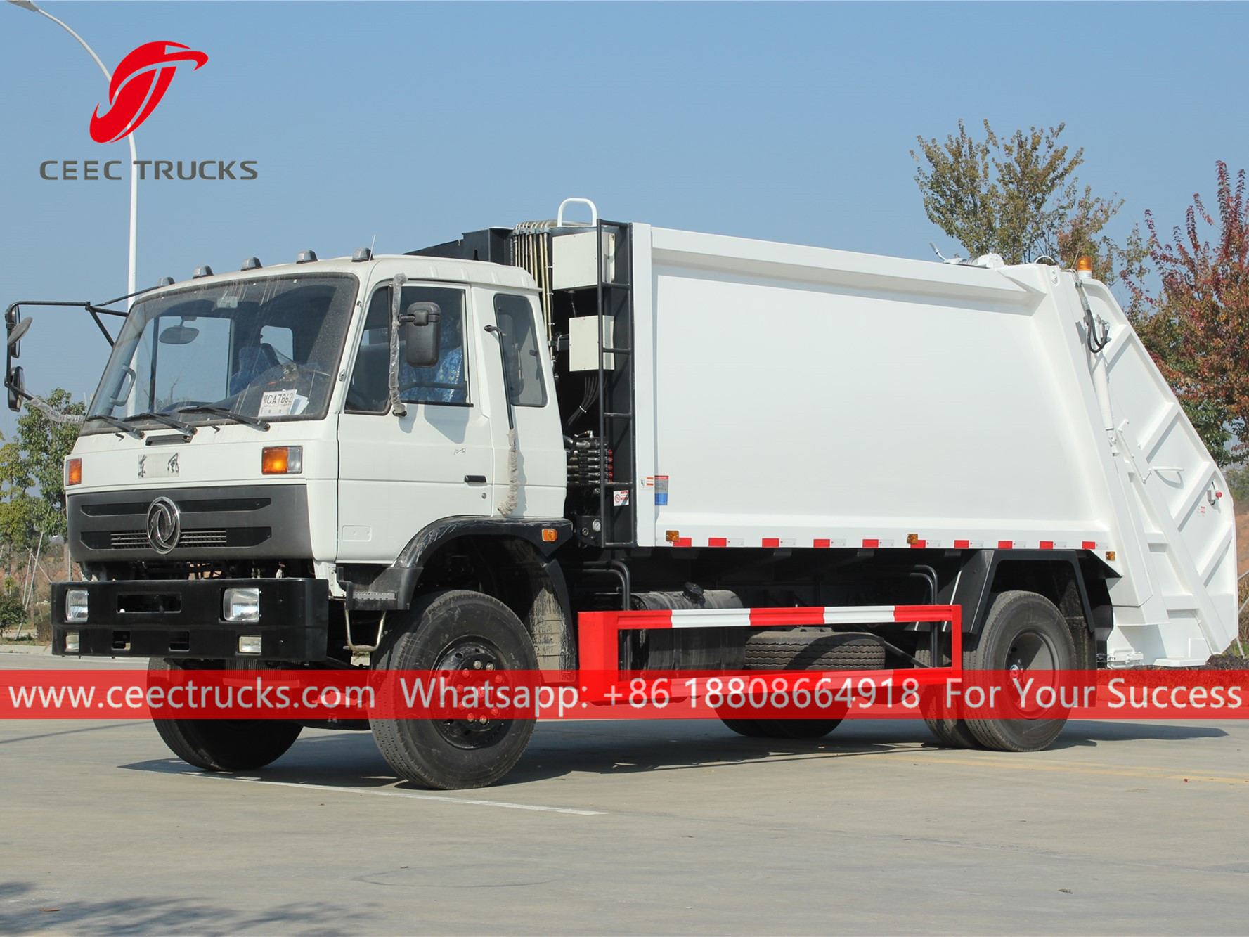 Refuse compact truck for sale