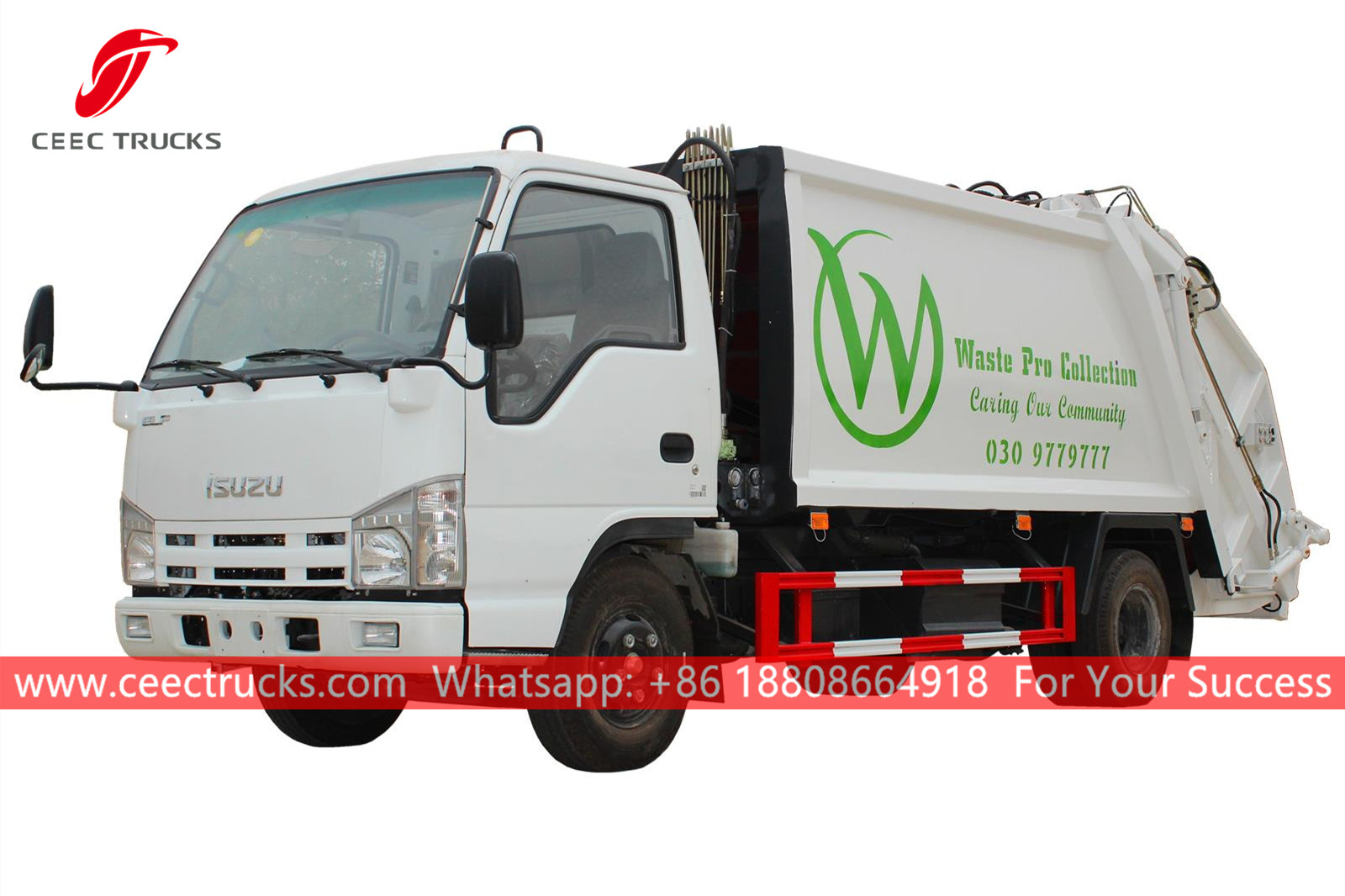 ISUZU 5CBM Waste compressing truck