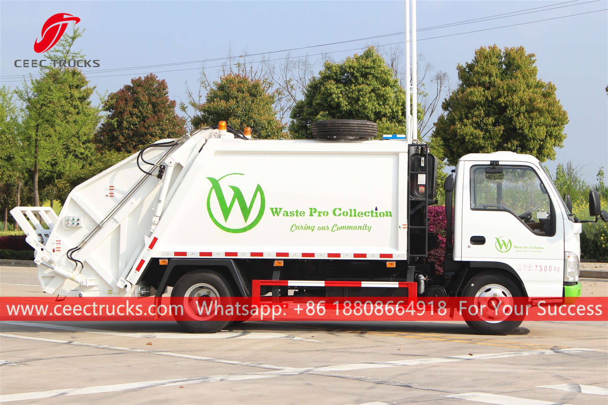 ISUZU Waste compressing truck